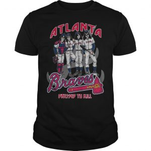 Atlanta Braves Dressed To Kill Shirt