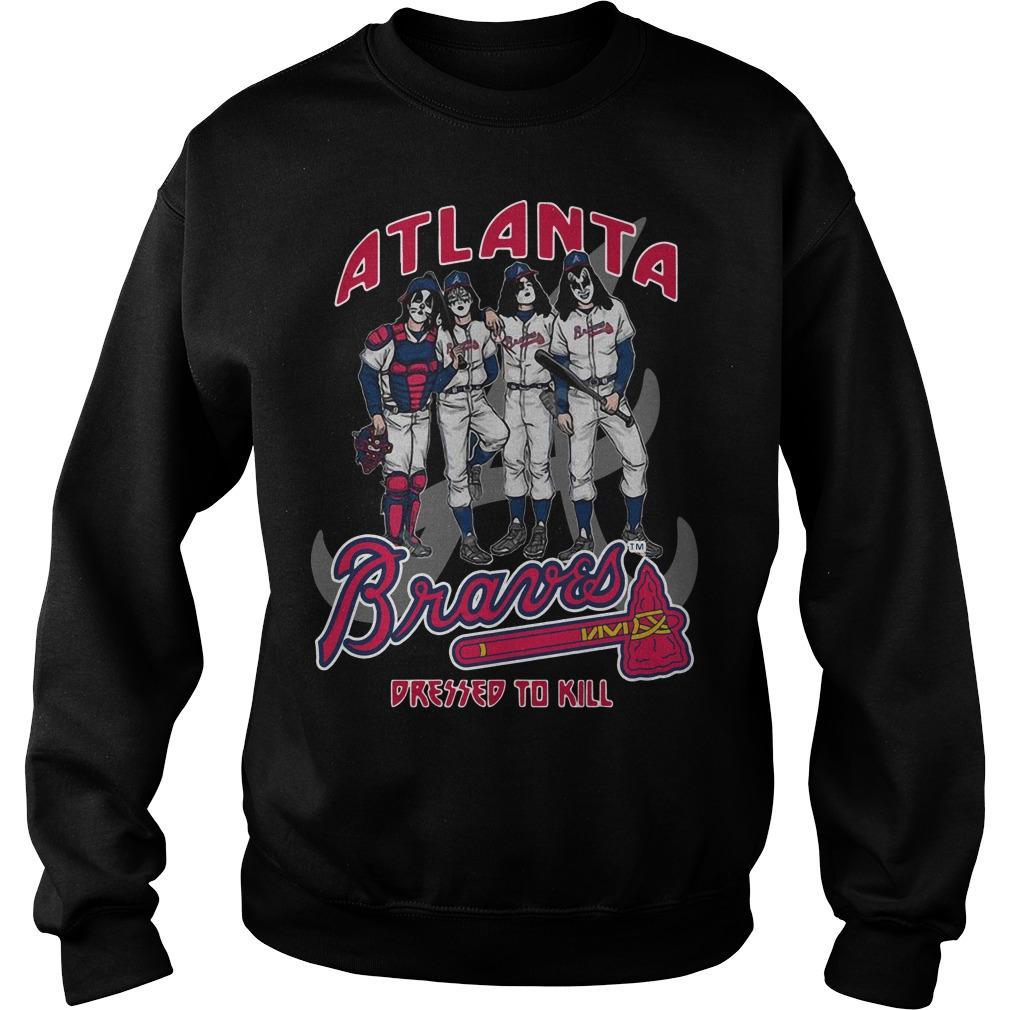 Atlanta Braves Dressed To Kill Sweater