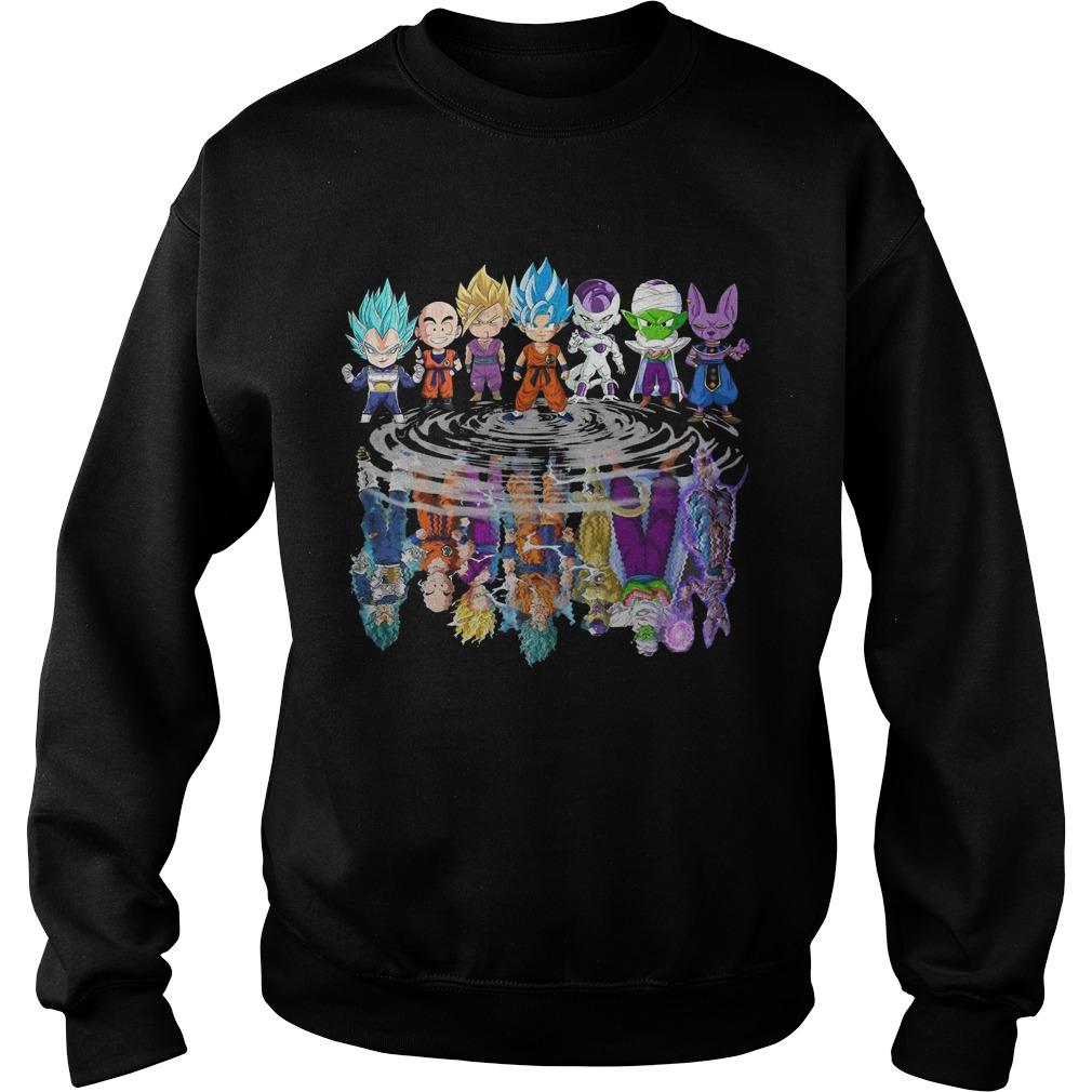 Baby Dragon Ball Z Characters Mirror Reflection Sweater