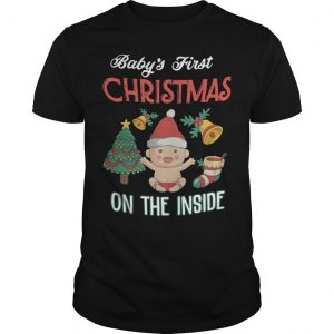 Baby's First Christmas On The Inside Shirt