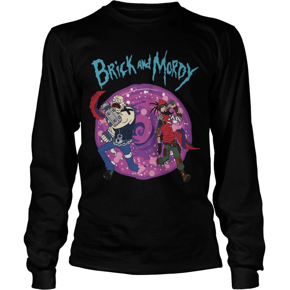 Borderlands Rick And Morty Brick And Mordy Longsleeve