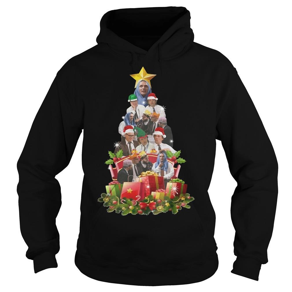 Bottom Tv Richie And Eddie Christmas Tree Hoodie