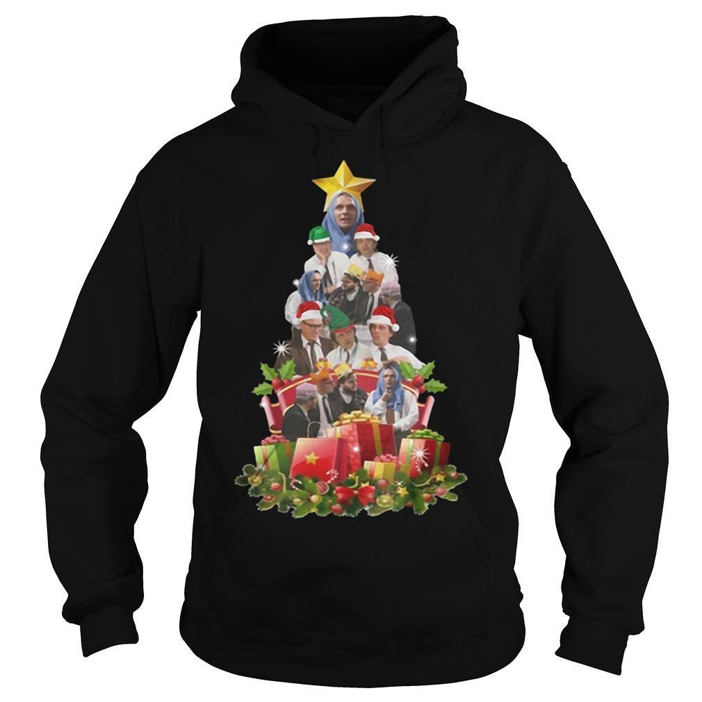 Bottom Tv Richie And Eddie Christmas Tree Hoodie