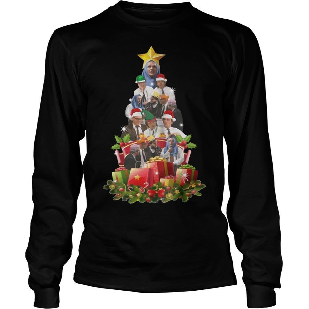 Bottom Tv Richie And Eddie Christmas Tree Longsleeve