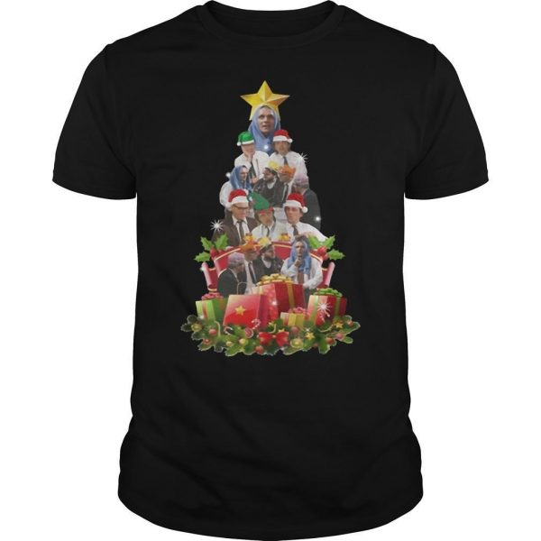 Bottom Tv Richie And Eddie Christmas Tree Shirt