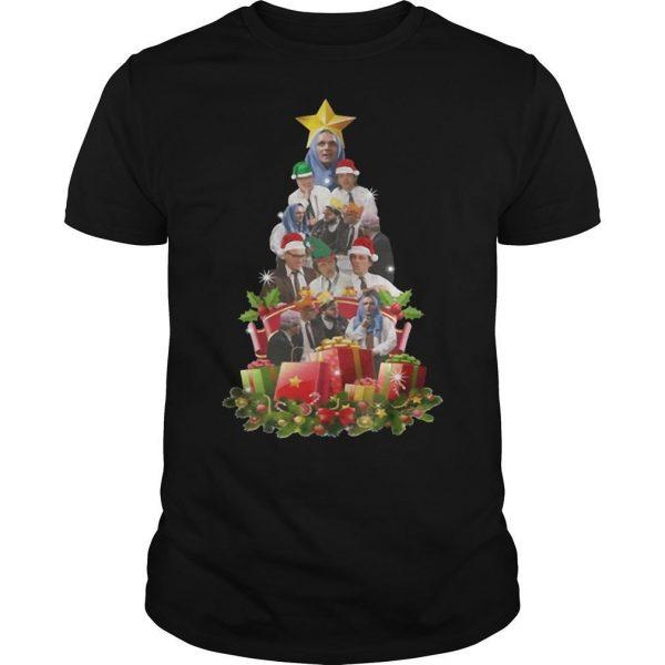 Bottom Tv Richie And Eddie Christmas Tree Shirt