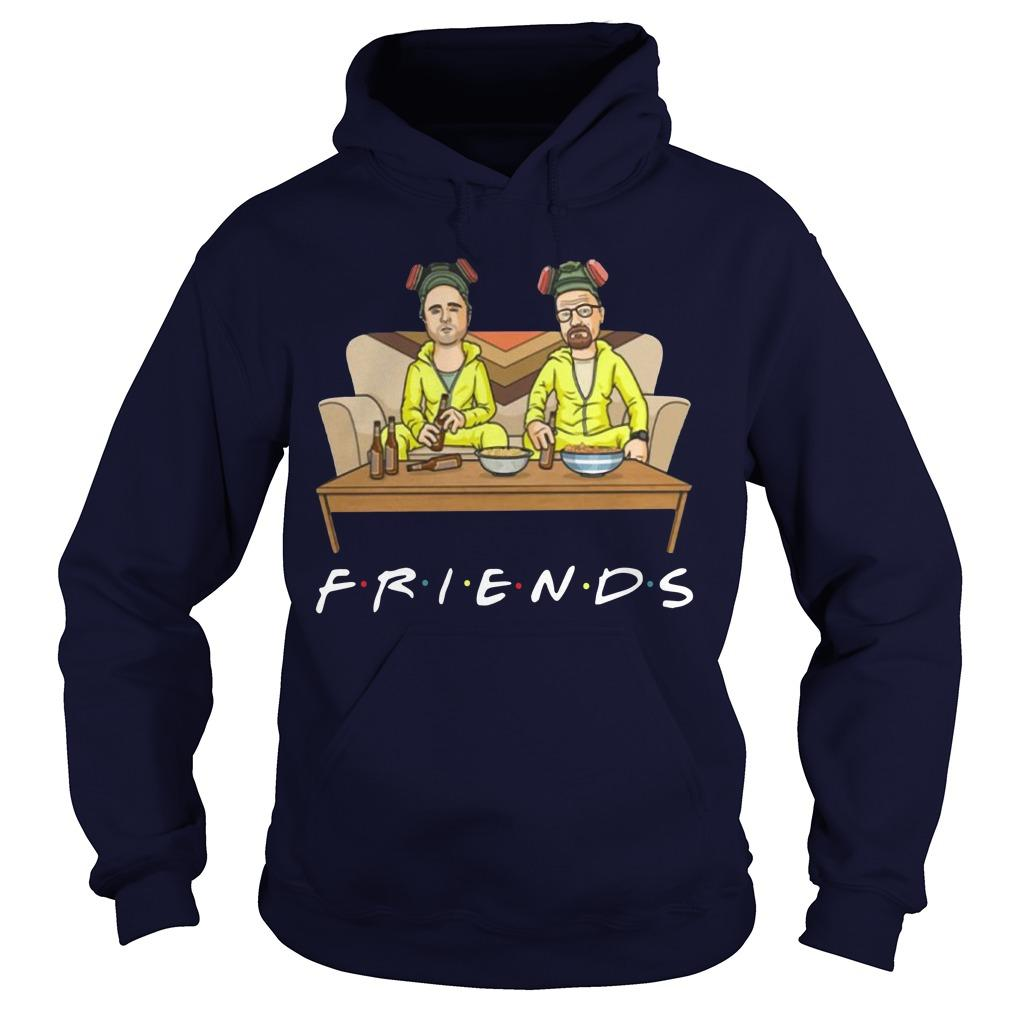 Breaking Bad Walter And Jessie Tv Show Friend Hoodie