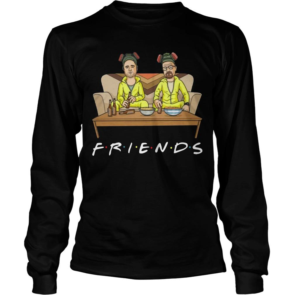 Breaking Bad Walter And Jessie Tv Show Friend Longsleeve