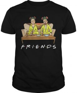 Breaking Bad Walter And Jessie Tv Show Friend Shirt