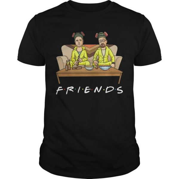 Breaking Bad Walter And Jessie Tv Show Friend Shirt