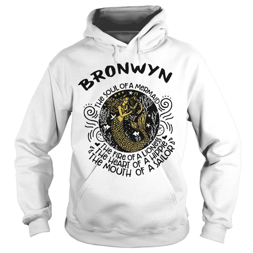 Bronwyn Mermaid The Soul Of A Mermaid The Fire Of A Lioness Hoodie