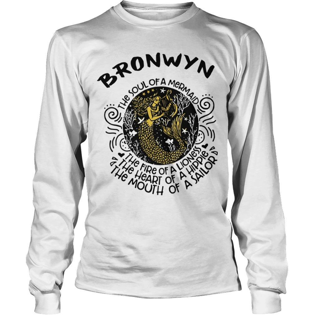 Bronwyn Mermaid The Soul Of A Mermaid The Fire Of A Lioness Longsleeve