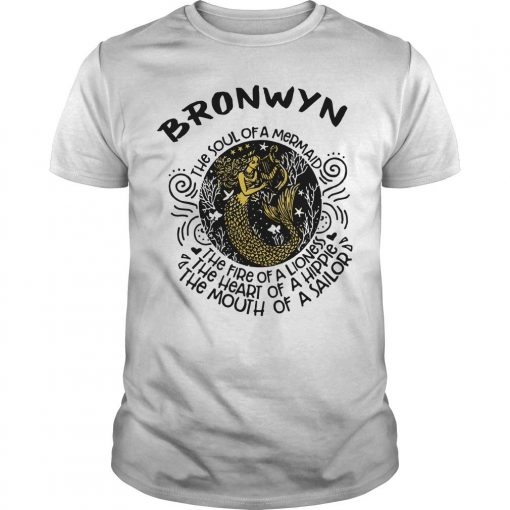 Bronwyn Mermaid The Soul Of A Mermaid The Fire Of A Lioness Shirt