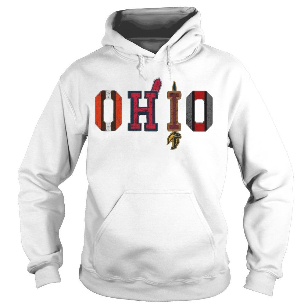 Browns Cleveland Cavaliers Ohio Cleveland Indians Hoodie