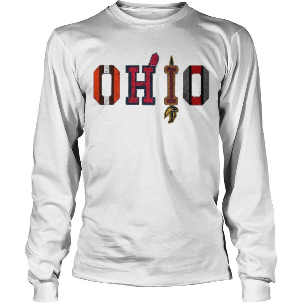 Browns Cleveland Cavaliers Ohio Cleveland Indians Longsleeve