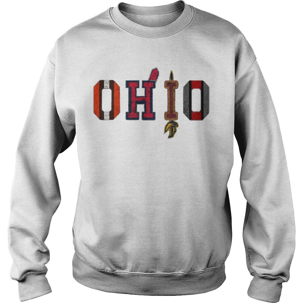 Browns Cleveland Cavaliers Ohio Cleveland Indians Sweater