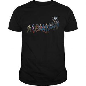 Captain America's Growth Shirt