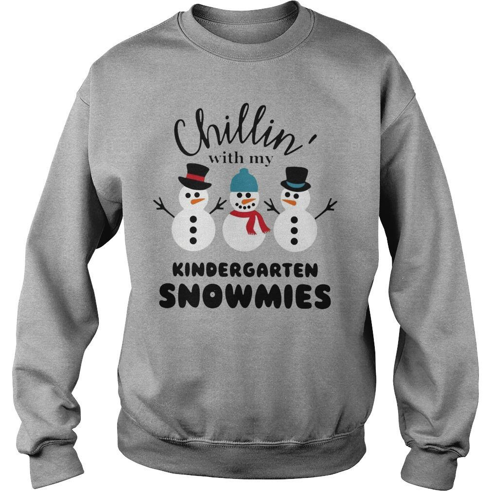 Chillin' With My Kindergarten Snowmies Sweater