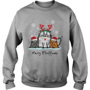 Christmas Cat Merry Fluffmas Shirt