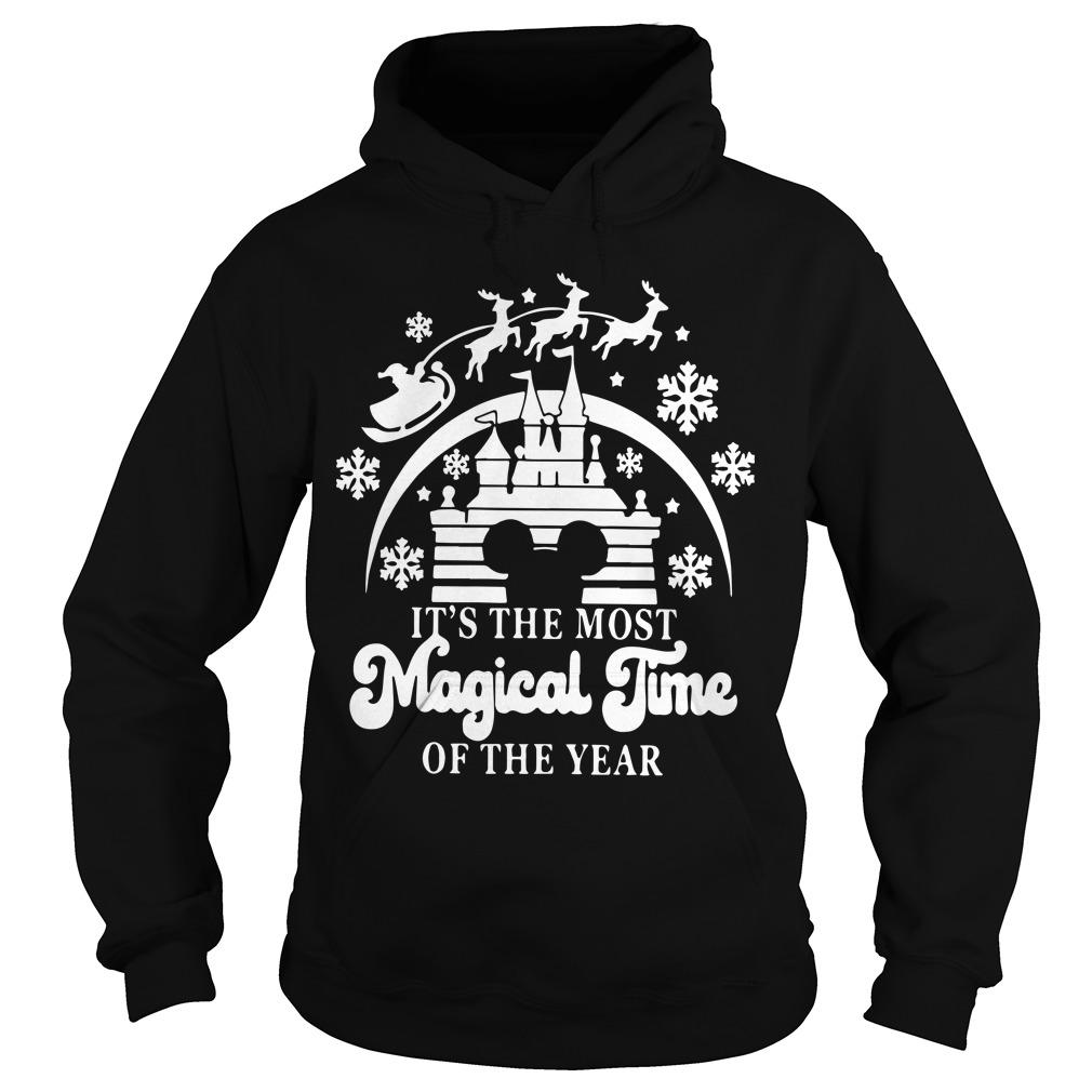 Christmas Disney It's The Most Magical Time Of The Year Hoodie