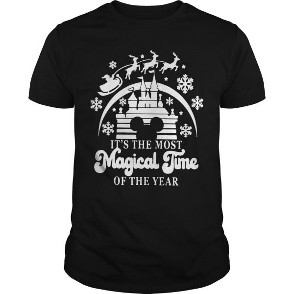Christmas Disney It's The Most Magical Time Of The Year Shirt