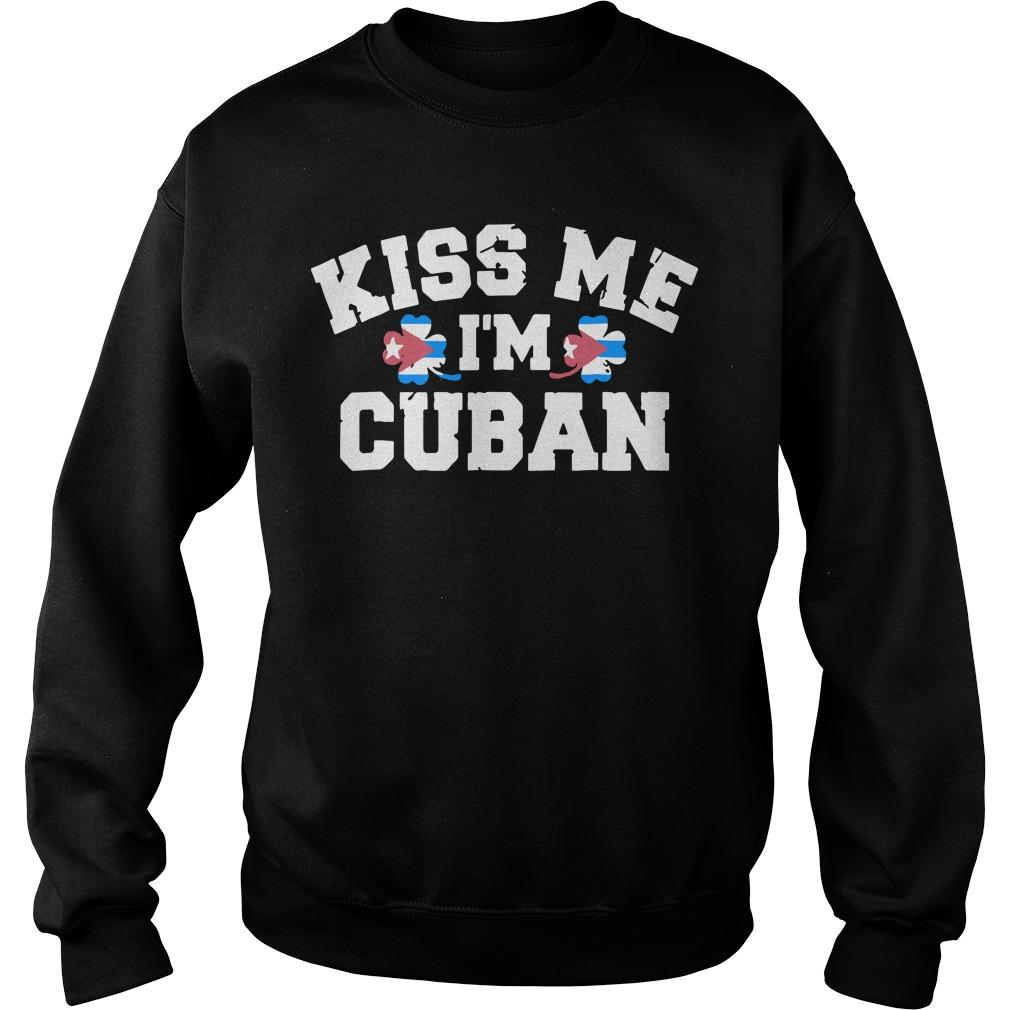 Christmas Kiss Me Im Cuban Sweater