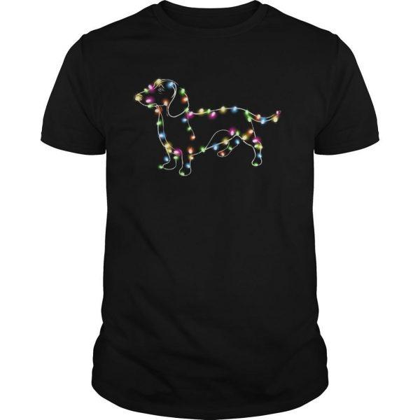 Christmas Lights Dachshund Shirt