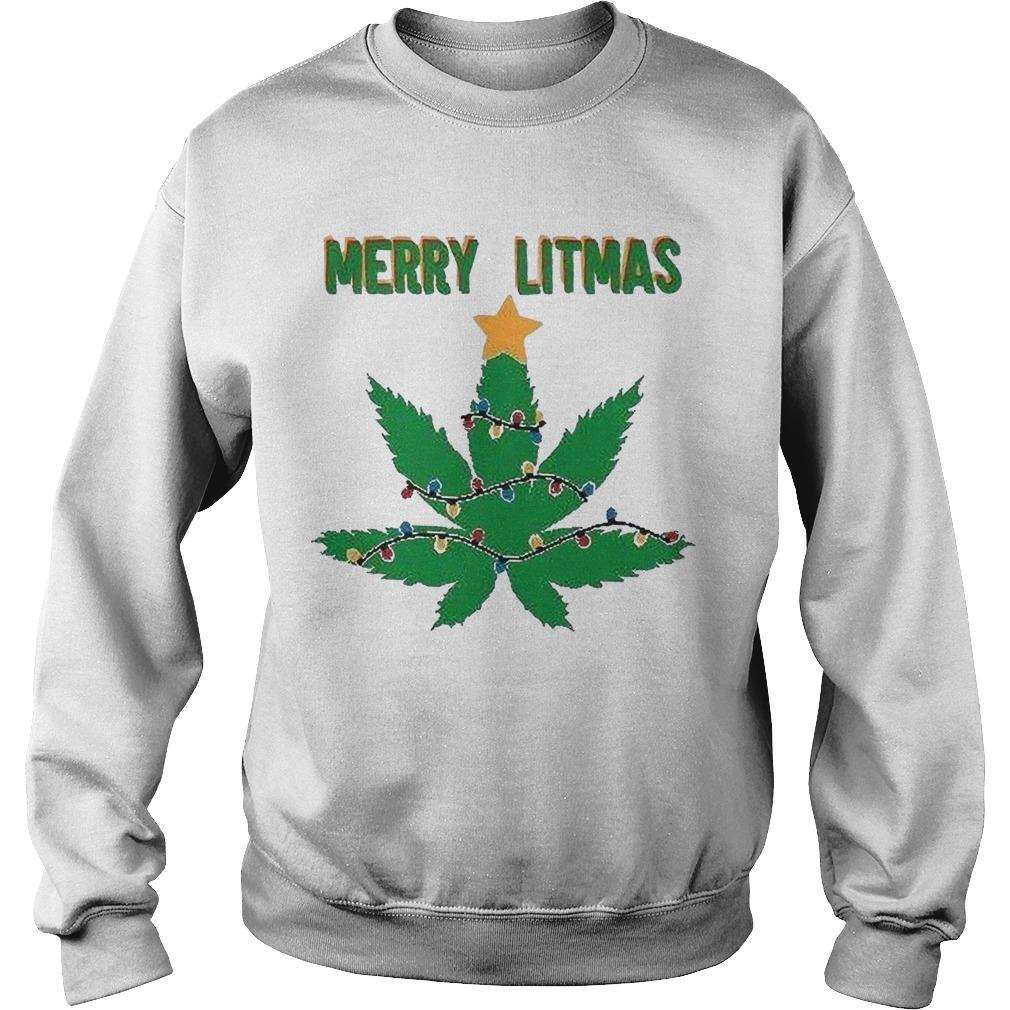 Christmas Merry Litmas Sweater