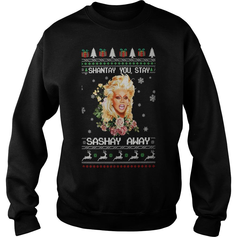 Christmas Shantay You Stay Sashay Away Sweater
