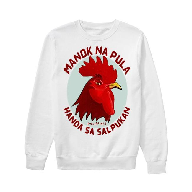Cock Manok Na Pula Handa Sa Salpukan Sweater