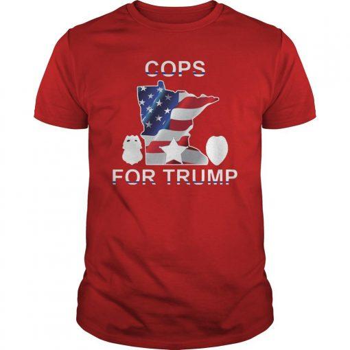 Cop For Trump 2020 Shirt