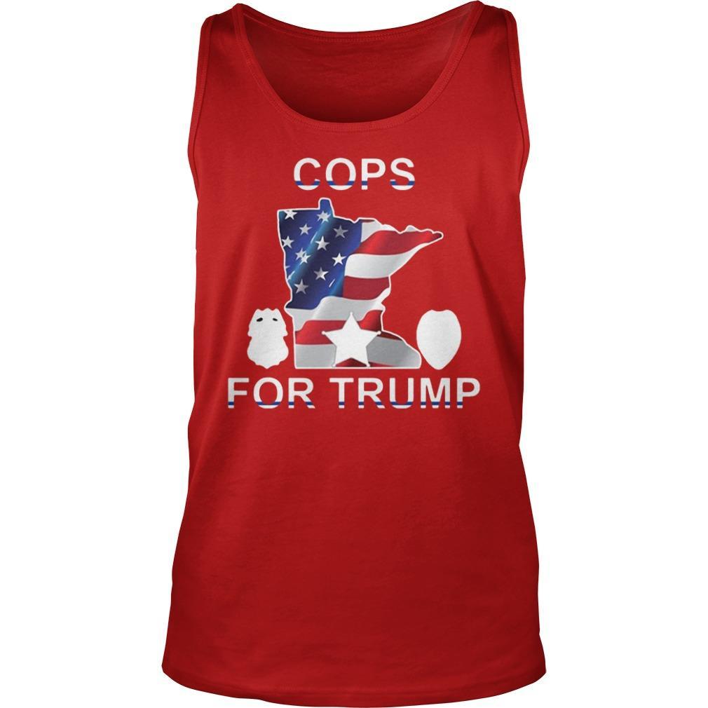 Cops For Trump T Tank Top