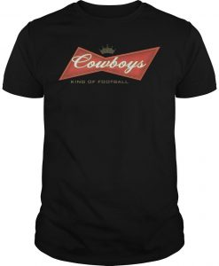 Cowboys King Of Football Shirt