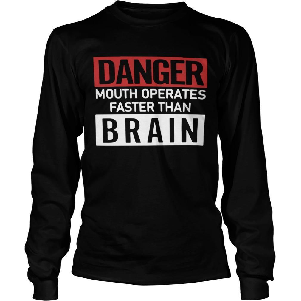 Danger Mouth Operates Faster Than Brain Longsleeve