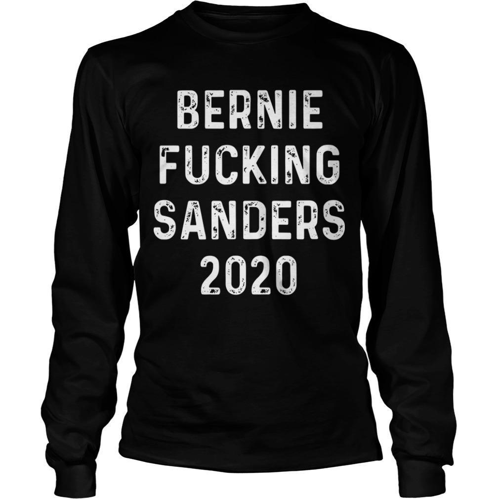 Detroiters Bernie Fucki' Sanders 2020 Longsleeve