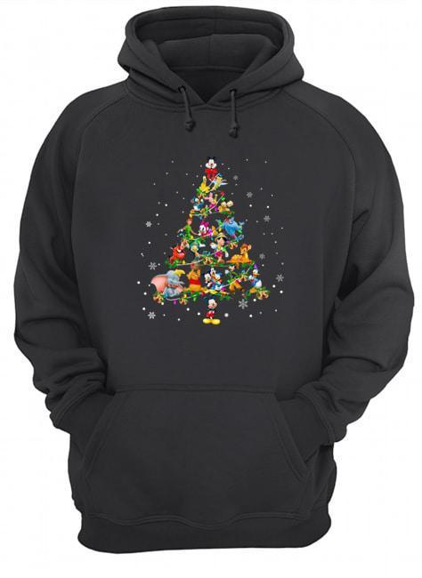Disney Characters Christmas Tree Hoodie