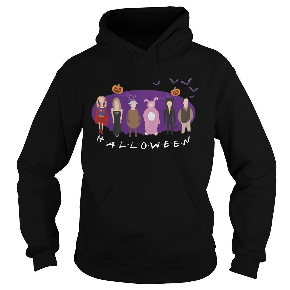 Disney Characters Friends Tv Show Halloween Hoodie