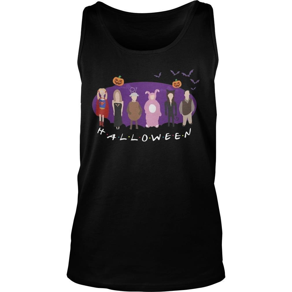 Disney Characters Friends Tv Show Halloween Tank Top