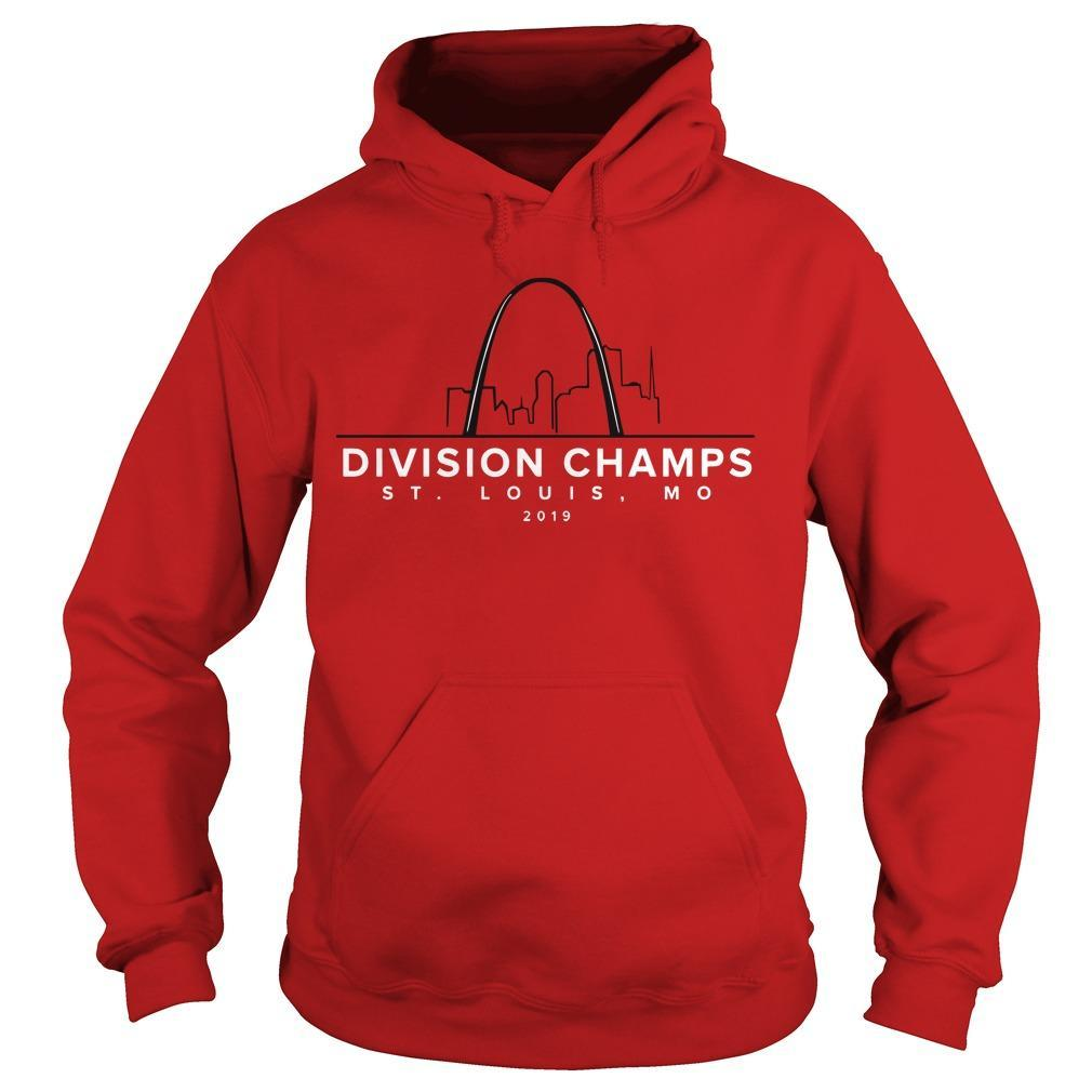 Division Champs ST Louis Mo 2019 Hoodie