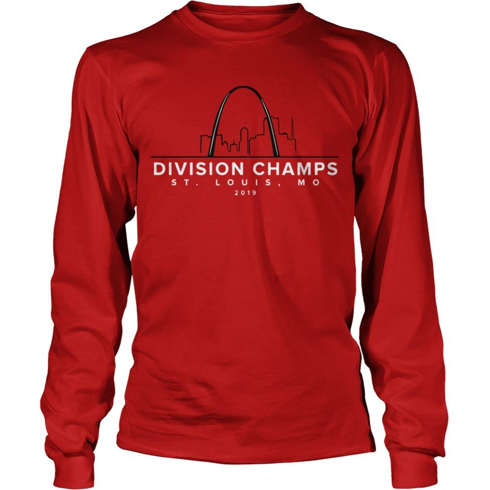 Division Champs ST Louis Mo 2019 Longsleeve