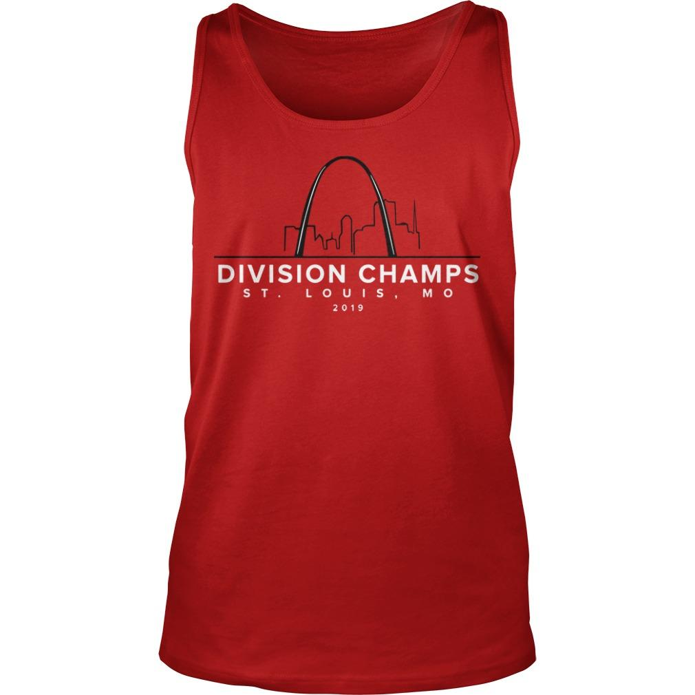 Division Champs ST Louis Mo 2019 Tank Top
