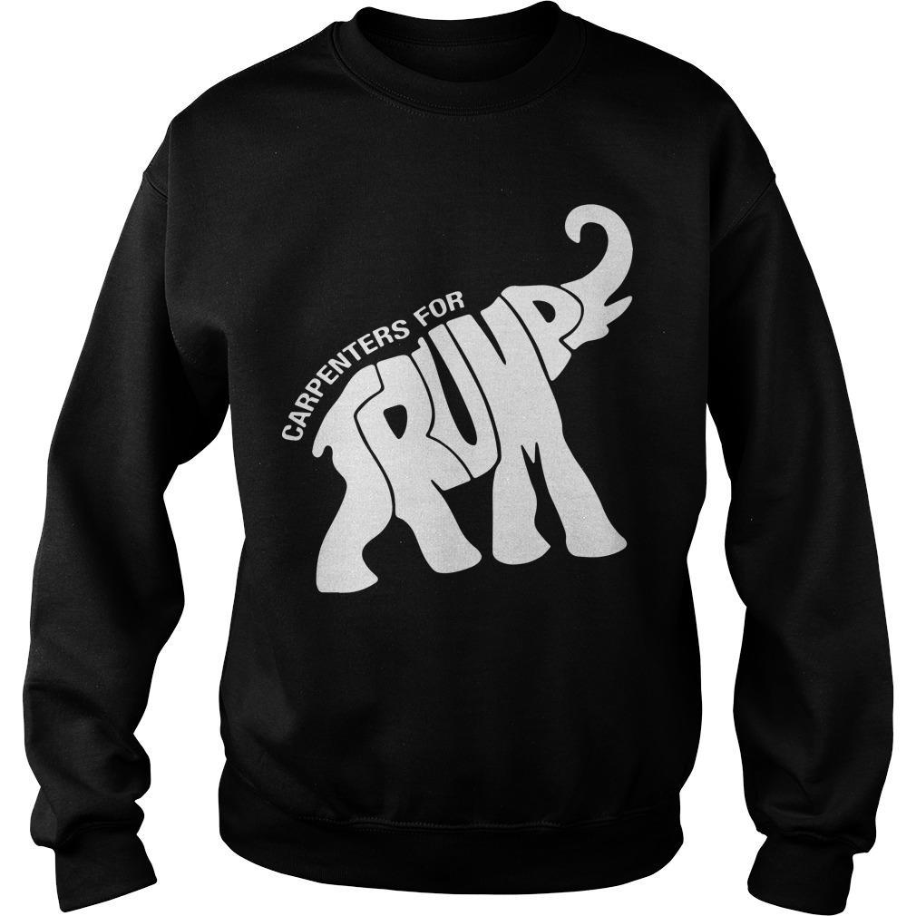 Elephant Carpenters For Trump Sweater