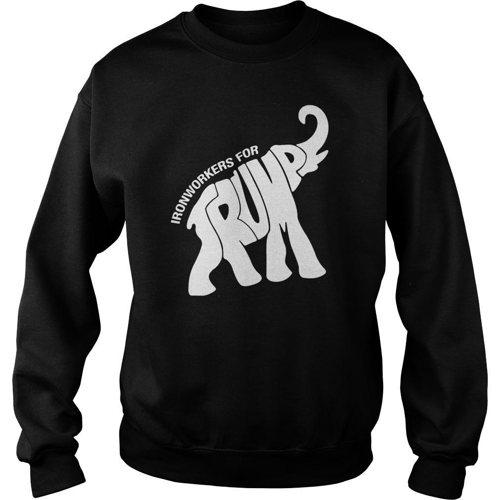 Elephant Ironworkers For Trump Sweater