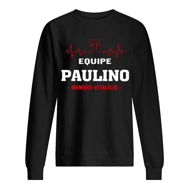 Equipe Paulino Membro Vitalício Sweater