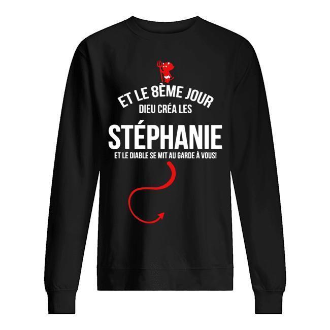Et Le 8ème Jour Dieu Créa Stéphane Sweater