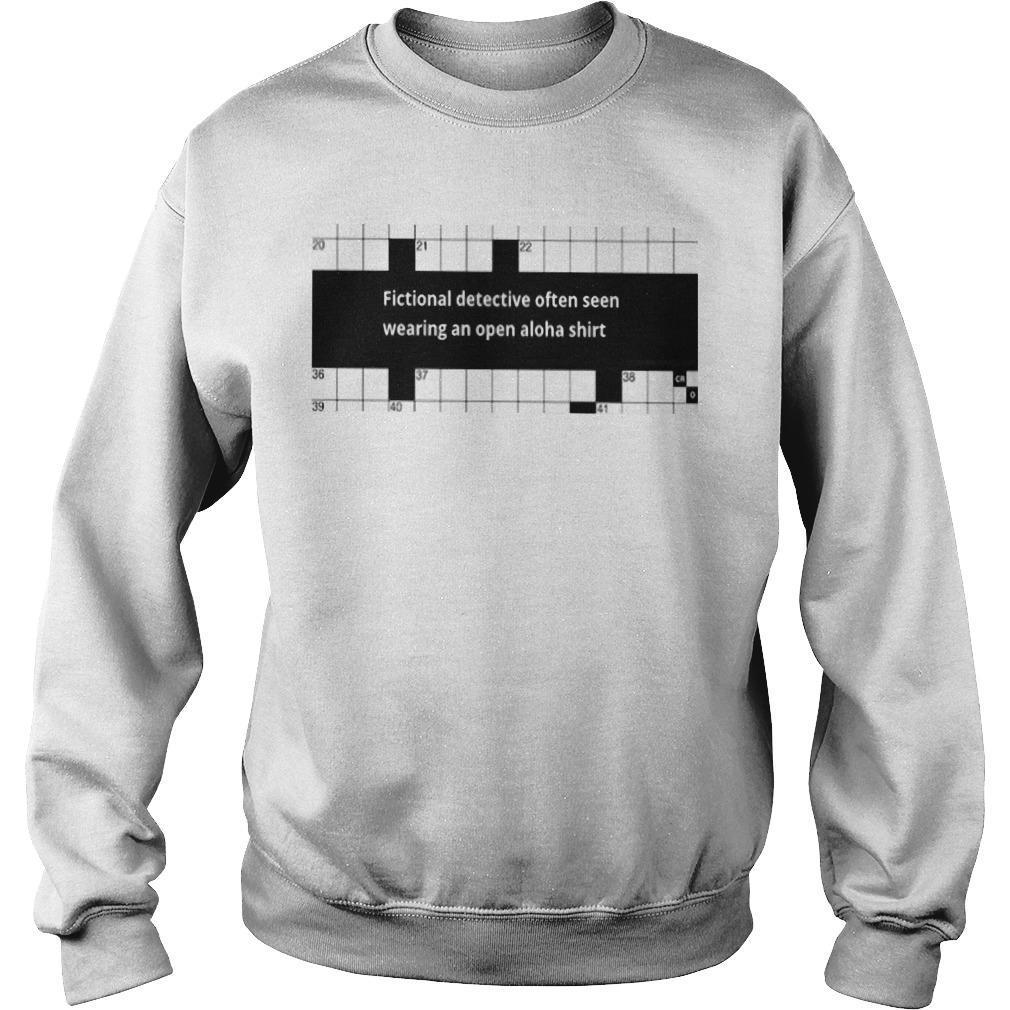 Fictional Detective Aloha Sweater