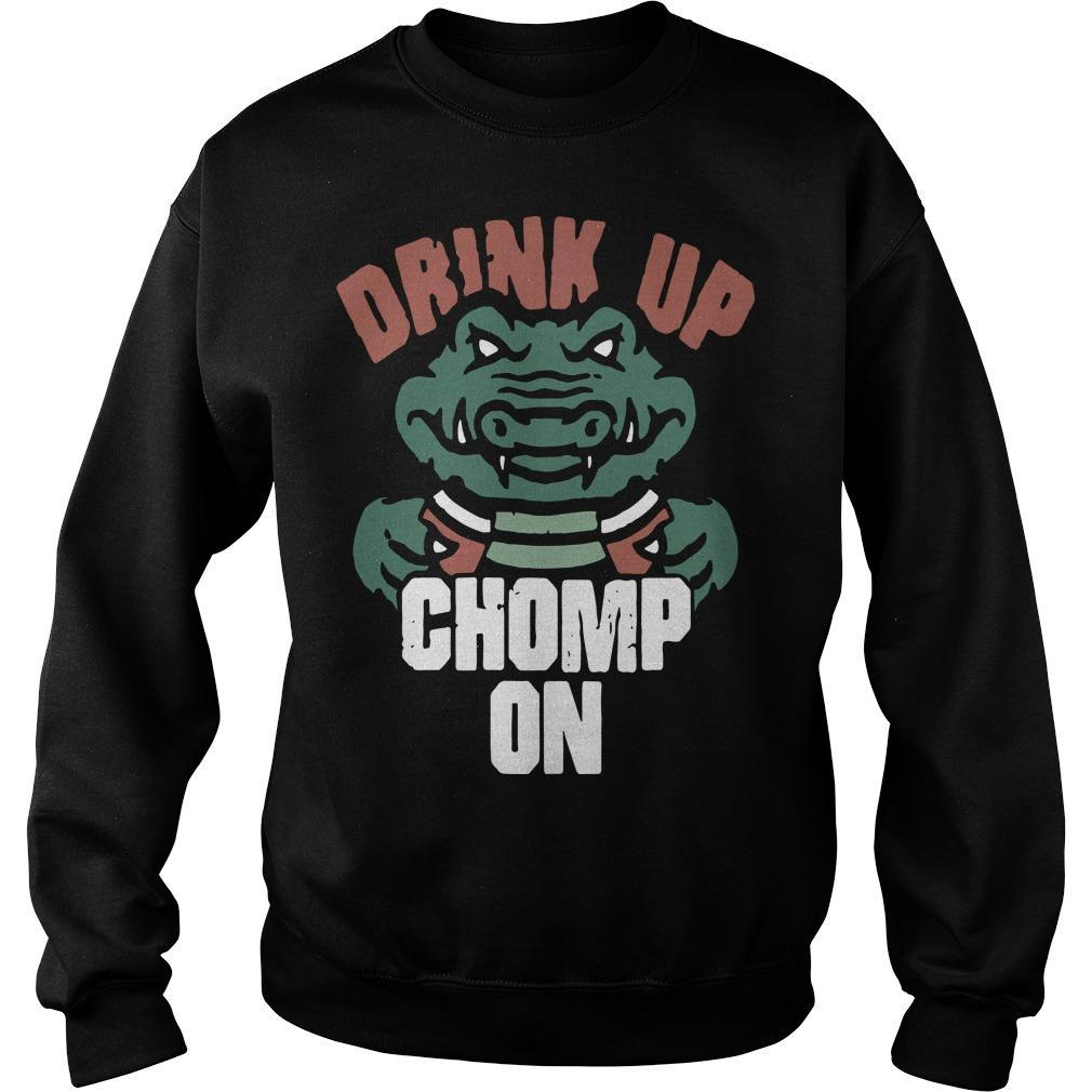 Florida Gators Fans Drink Up Chomp On Sweater