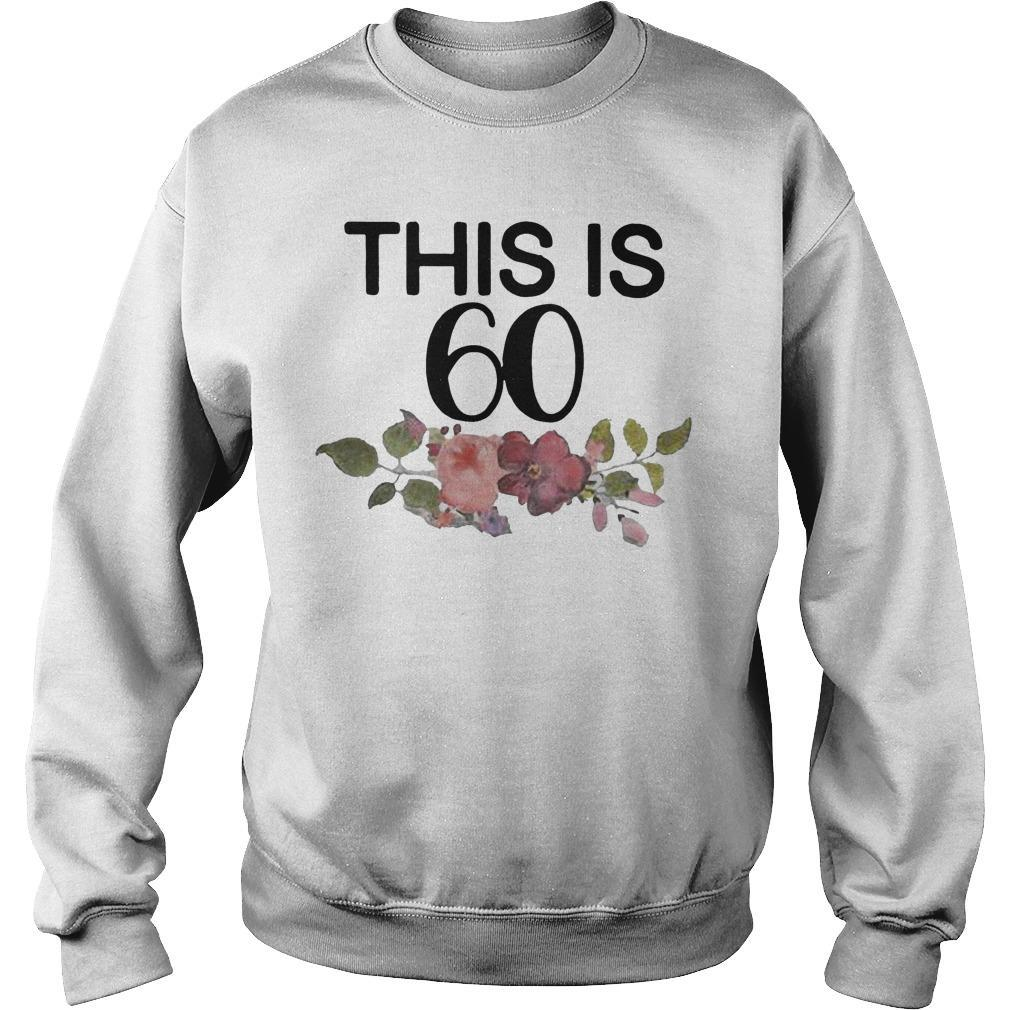 Flower This Is 60 Sweater