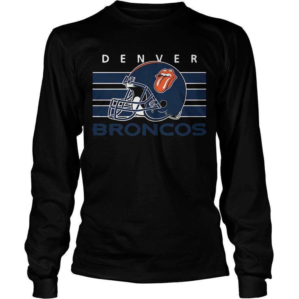 Football Cheers Fan Of Denver Broncos Longsleeve