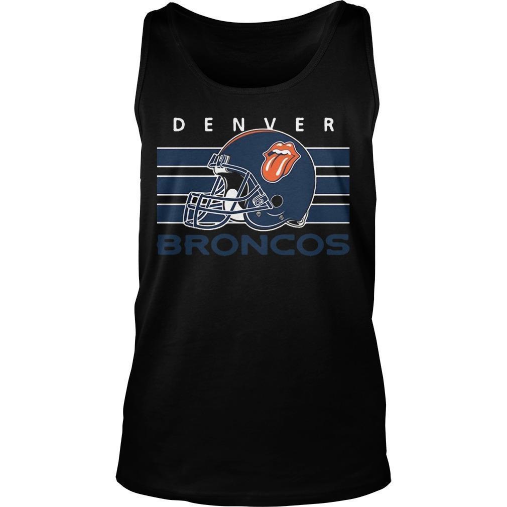 Football Cheers Fan Of Denver Broncos Tank Top